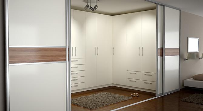 ankleide weiss schiebetueren m bel meister. Black Bedroom Furniture Sets. Home Design Ideas
